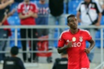 Benfica's player Talisca jubilating after scoring a goal against Estoril during their Portuguese first league soccer match played in Estoril, Portugal, 27 September 2014. TIAGO PETINGA/LUSA