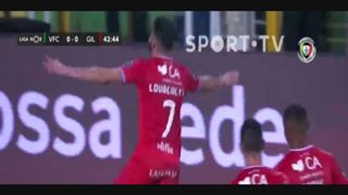 Gil Vicente FC, Golo, Lourency, 43m, 0-1