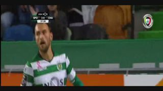 Sporting CP, Jogada, Bas Dost, 38m