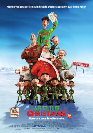 Arthur Christmas – Legendado