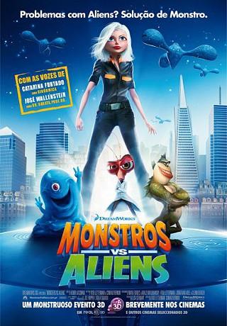 Monstros vs. Aliens