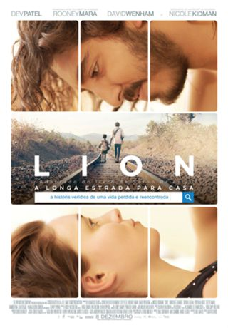 Image result for cinema lion a longa estrada para casa