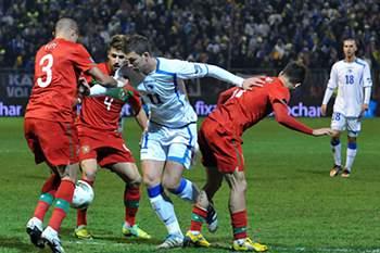 Play-off EURO2012:Bósnia-Portugal