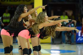 As Cheerleaders do Mundial de Basquetebol