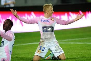 Dinamarquês não vingou no Benfica e foi vendido ao Èvian.