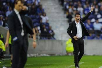 O treinador do Sporting soma dois triunfos consecutivos no estádio do Dragão.
