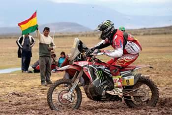 As melhores imagens do Dakar: 7ª Etapa