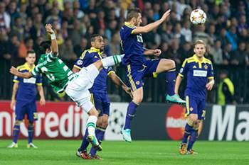 LC: Maribor x Sporting 2014/2015