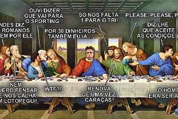 Jesus no Sporting e a Internet explode com 'memes'