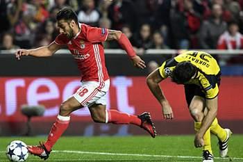 LC: Benfica - B. Dortmund 16/17