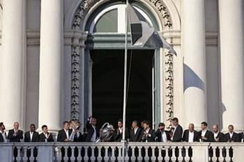 Festa do Benfica na Câmara de Lisboa
