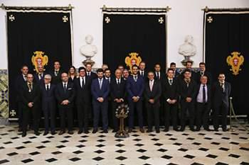 Marcelo condecora campeões europeus de hóquei