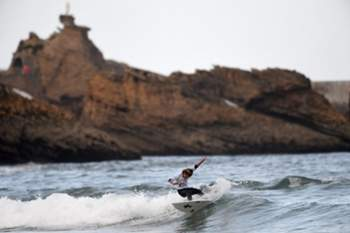 Desporto e natureza juntos em Biarritz