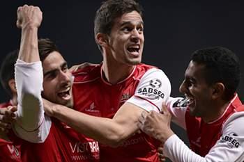 Bis de Fonte e SC Braga dobra 1ª volta no pódio