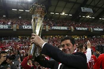 A 7ª festa do Benfica na Taça da Liga