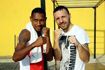 Estágio de Kickboxing na Cidade da Praia