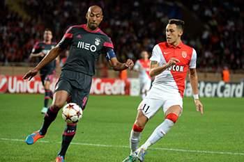 LC: Mónaco x Benfica
