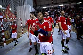 A festa do Benfica em andebol