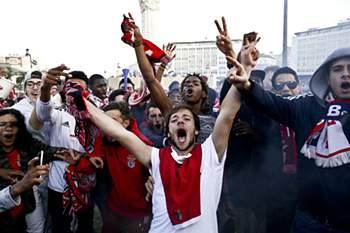 Benfica campeão 2016: A festa