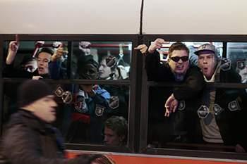 Caos no Roma-Feyenoord
