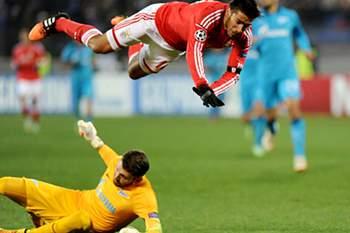 Benfica caiu com estrondo