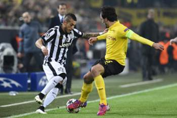 LC 14/15: Dortmund - Juventus