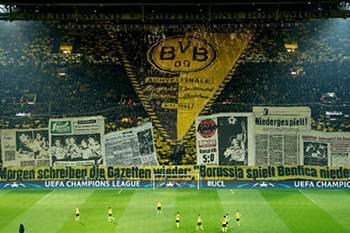 LC: B. Dortmund - Benfica 16/17