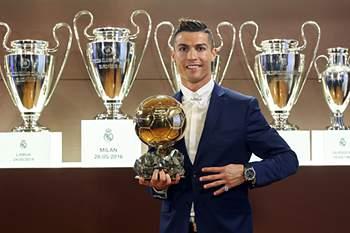 A 4.ª Bola de Ouro de Ronaldo