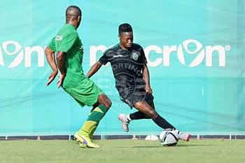 Jogo de treino entre Sporting e Mafra