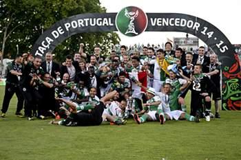 Sporting festeja a 16ª Taça de Portugal