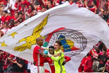 Benfica tetracampeão: a festa na Luz