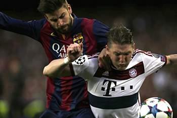 Meia final da Champions: Barcelona-Bayern