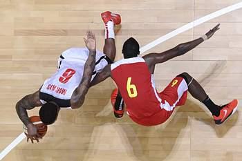 Afrobasket2015: Angola 84-72 Moçambique