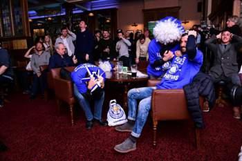 A festa rija do campeão Leicester