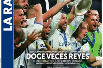 Europa rendida a Ronaldo e companhia