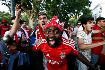Benfica campeão: A festa no Marquês