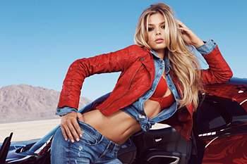 Danielle Knudson quer chegar à Victoria's Secret