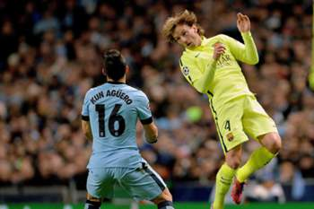 LC 2014/15: Manchester City-Barcelona