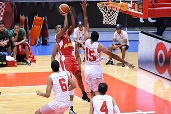 Afrobasket 2015: Marrocos 82-85 Moçambique