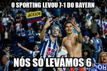 Os 'memes' do Bayern 6-1 FC Porto