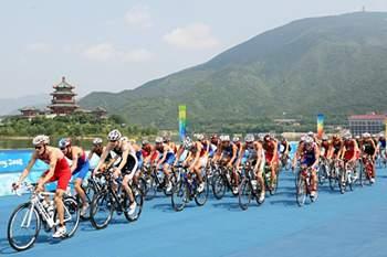 As melhores paisagens do triatlo mundial