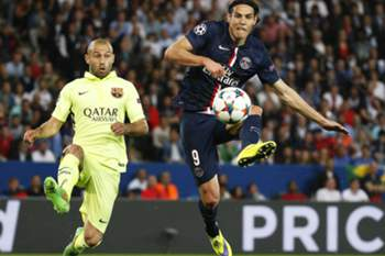 LC 14/15: PSG - Barcelona