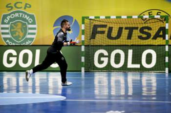 Sporting brilha no futsal