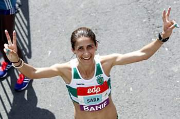 Sara Moreira quer conquistar o Olimpo