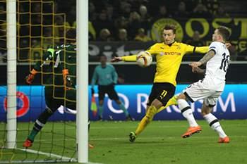 Golos da 1.ª mão dos 'oitavos' da Liga Europa