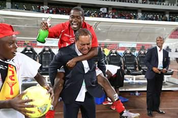 A festa do Benfica de Luanda