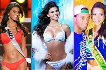 7 futebolistas feios que andam com modelos