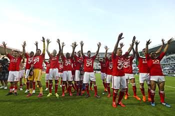 Benfica campeão 2015: a festa
