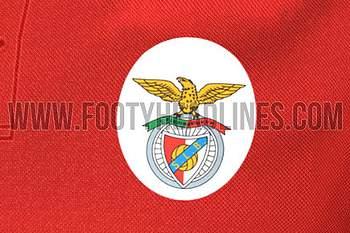 Equipamento Benfica 17/18