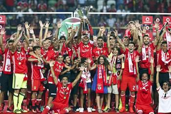 07/08: Benfica vence Supertaça